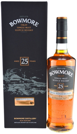 Bowmore Scotch 25 Year Old